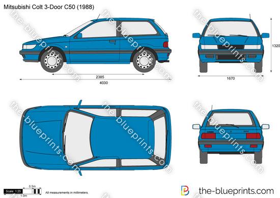 Mitsubishi Colt 3-Door C50
