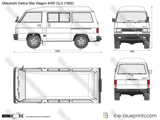 Mitsubishi Delica Star Wagon 4WD GLX