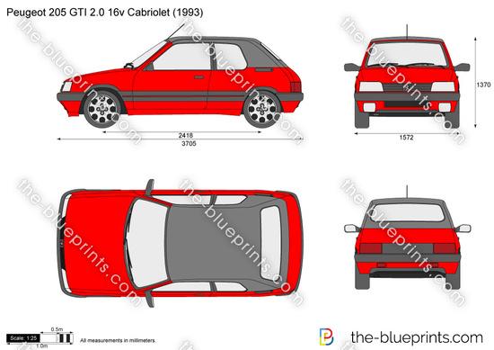 Peugeot 205 CTI 2.0 16v Cabriolet