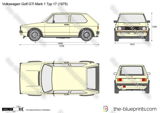 Volkswagen Golf GTI Mark 1 Typ 17
