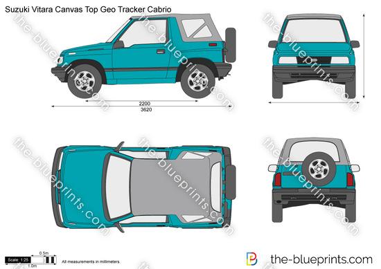 Suzuki Vitara Canvas Top Geo Tracker Cabrio