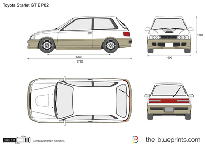 Toyota Starlet GT EP82