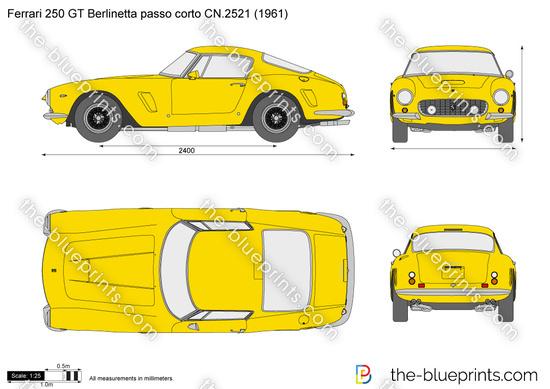 Ferrari 250 GT Berlinetta passo corto CN.2521