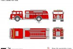 Ford C-Series Fire Truck