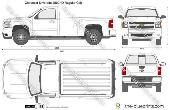 Chevrolet Silverado 2500HD Regular Cab