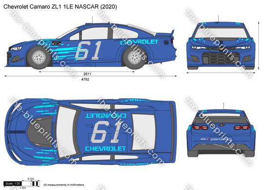 Chevrolet Camaro ZL1 1LE NASCAR