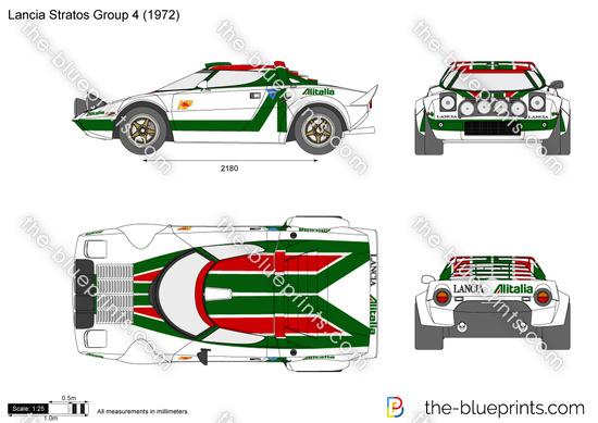 Lancia Stratos Group 4
