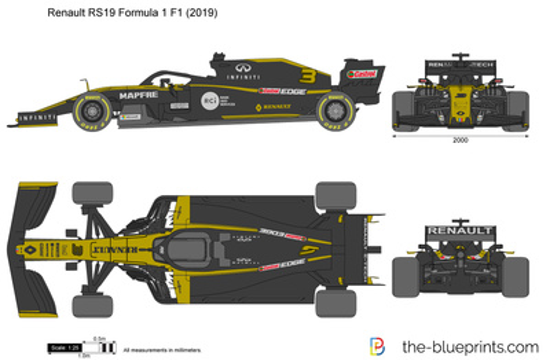 Renault RS19 Formula 1 F1