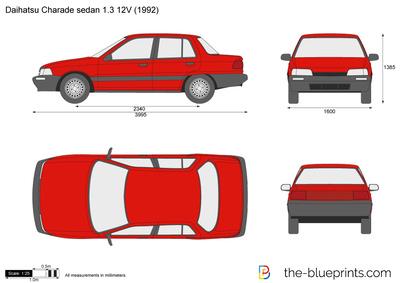 Daihatsu Charade sedan 1.3 12V (1992)