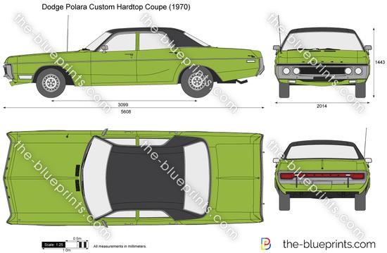 Dodge Polara Custom Hardtop Coupe