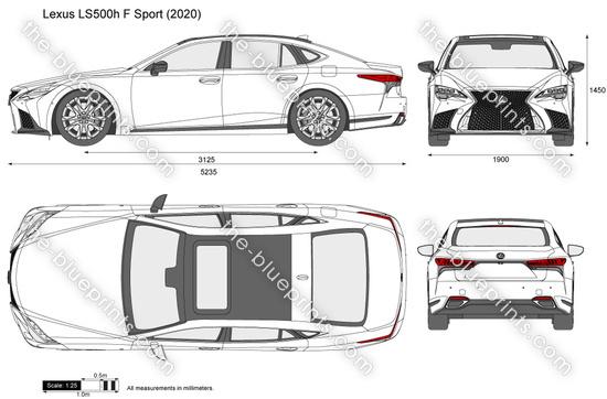 Lexus LS500h F Sport