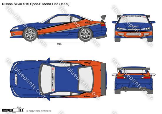 Nissan Silvia S15 Spec-S Mona Lisa