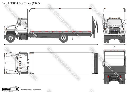 Ford LN8000 Box Truck