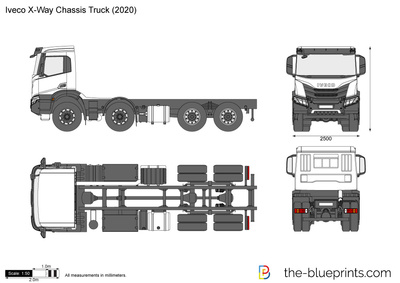 Iveco X-Way Chassis Truck