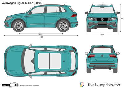 Volkswagen Tiguan R-Line (2020)
