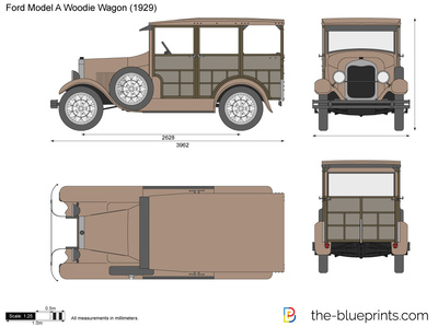 Ford Model A Woodie Wagon