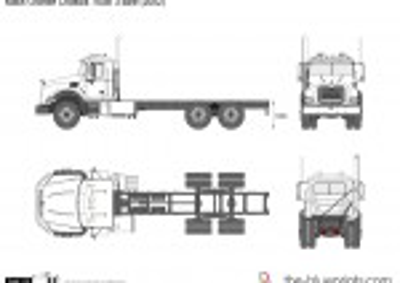 Mack Granite Chassis Truck 3-axle (2002)