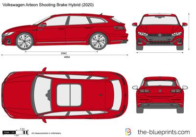 Volkswagen Arteon Shooting Brake Hybrid (2020)