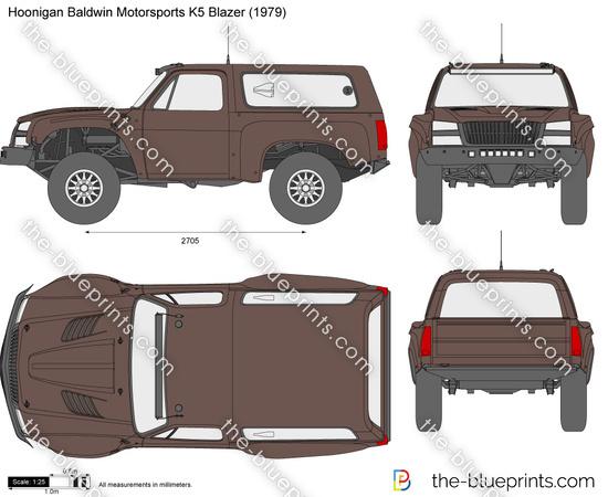Hoonigan Baldwin Motorsports K5 Blazer