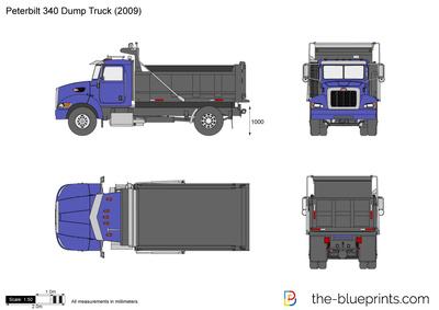 Peterbilt 340 Dump Truck (2009)