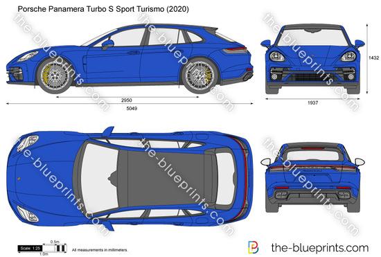 Porsche Panamera Turbo S Sport Turismo