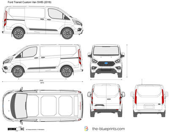 Ford Transit Custom Van L1H1