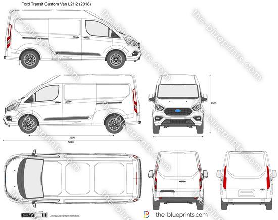 Ford Transit Custom Van L2H2