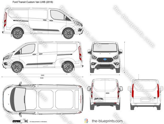 Ford Transit Custom Van LWB