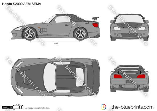 Honda S2000 AEM SEMA