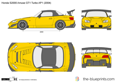 Honda S2000 Amuse GT1 Turbo AP1