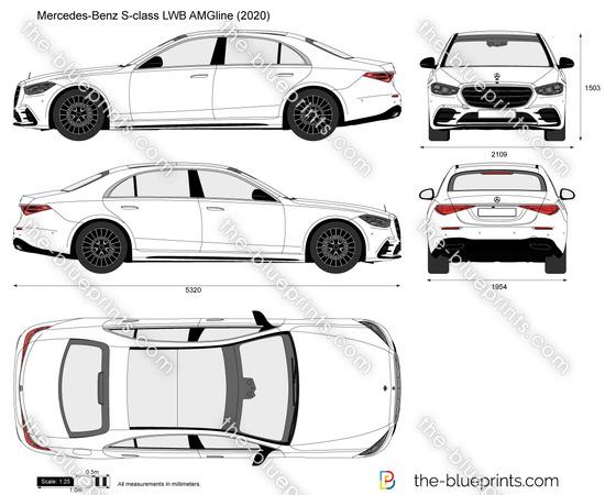 Mercedes-Benz S-class LWB AMGline W223