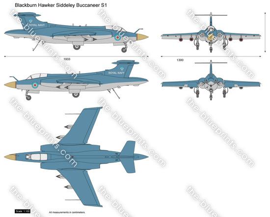 Blackburn Hawker Siddeley Buccaneer S1