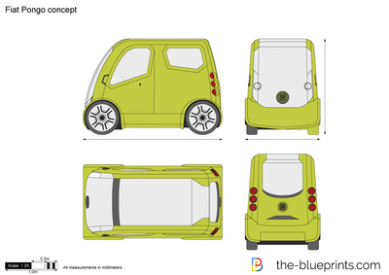 Fiat Pongo concept