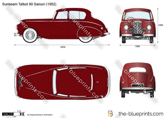 Sunbeam Talbot 90 Saloon