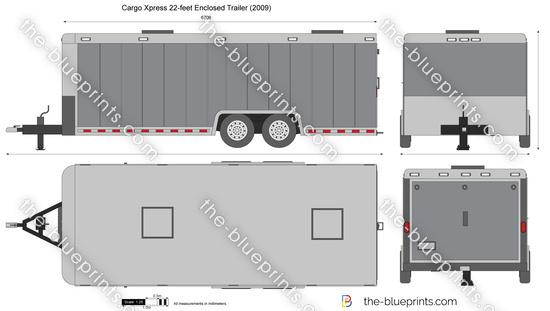 Cargo Xpress 22-feet Enclosed Trailer