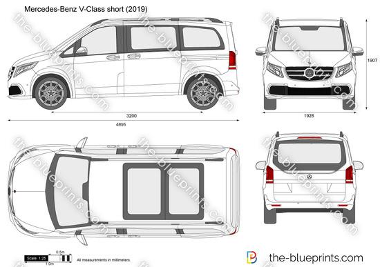 Mercedes-Benz V-Class short