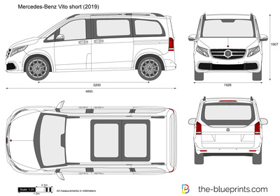 Mercedes-Benz Vito short