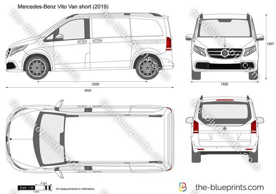 Mercedes-Benz Vito Van short