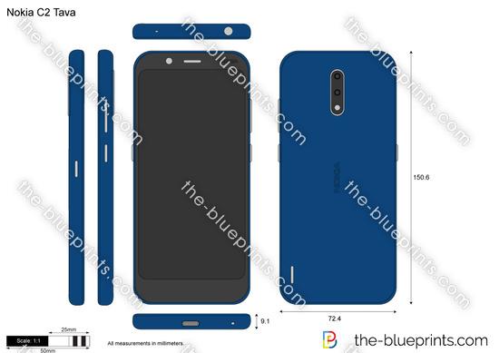 Nokia C2 Tava