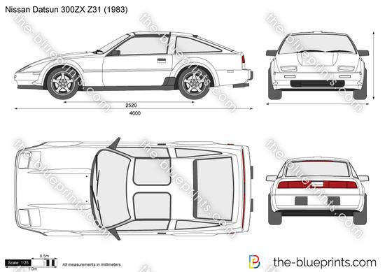 Nissan Datsun 300ZX Z31