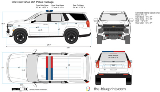 Chevrolet Tahoe 9C1 Police Package