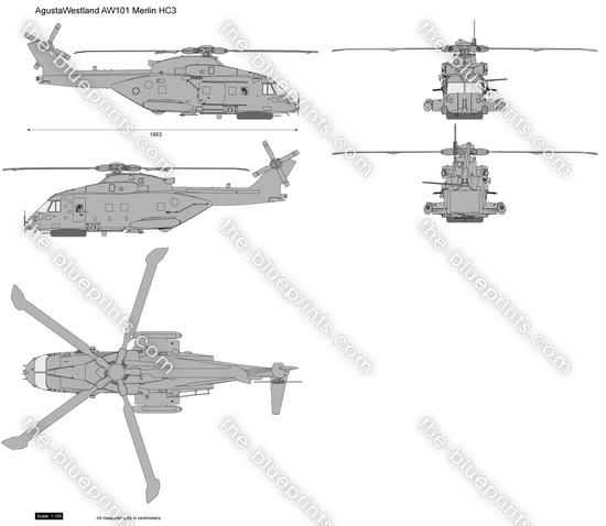AgustaWestland AW101 Merlin HC3