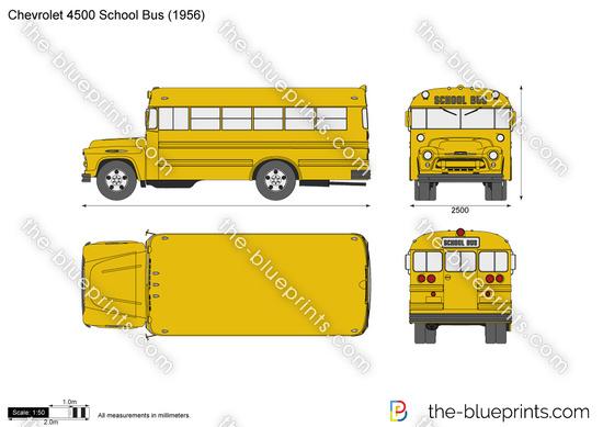 Chevrolet 4500 School Bus