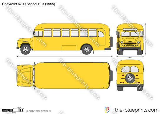 Chevrolet 6700 School Bus