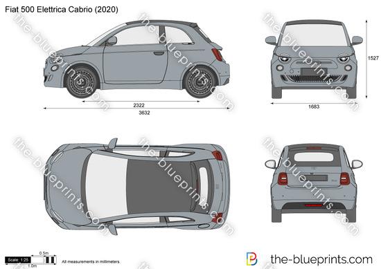 Fiat 500 Elettrica Cabrio