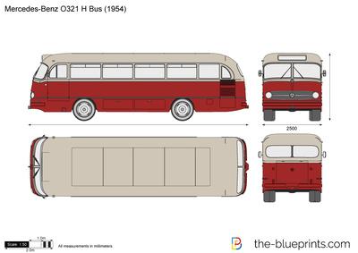 Mercedes-Benz O321 H Bus (1954)