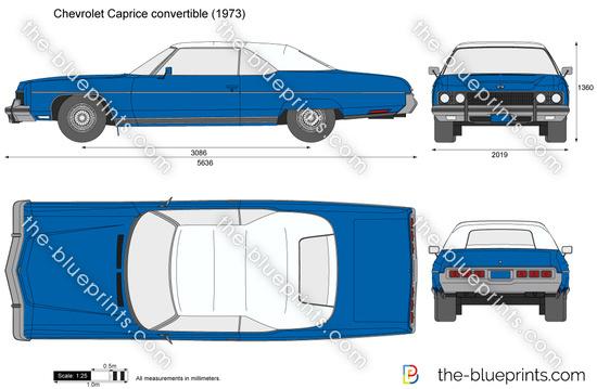 Chevrolet Caprice convertible