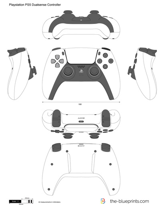 Playstation PS5 Dualsense Controller