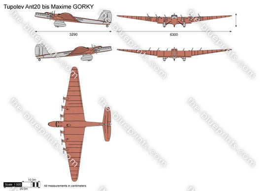 Tupolev Ant-20 bis Maxime GORKY