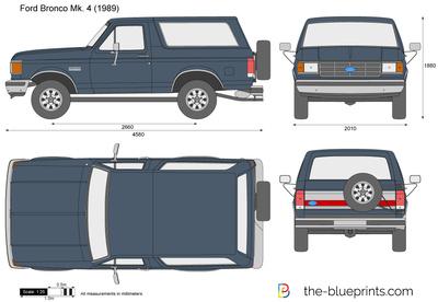 Ford Bronco Mk. 4 (1989)